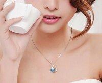 Halskette Doppelherz