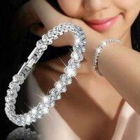 Luxus Kristall Armband Damen