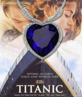 Titanic Halskette Herz des Ozeans Kette + Anhänger...
