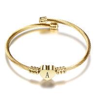 Armband Armreif Vergoldet Buchstabe (A-Z)