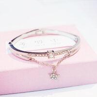 Armband Armreif Kristall mit Stern