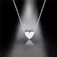 Halskette Herz Titan
