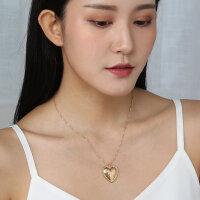 Halskette Herz in Gold
