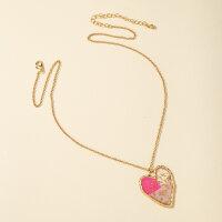 Halskette Herz Kunst