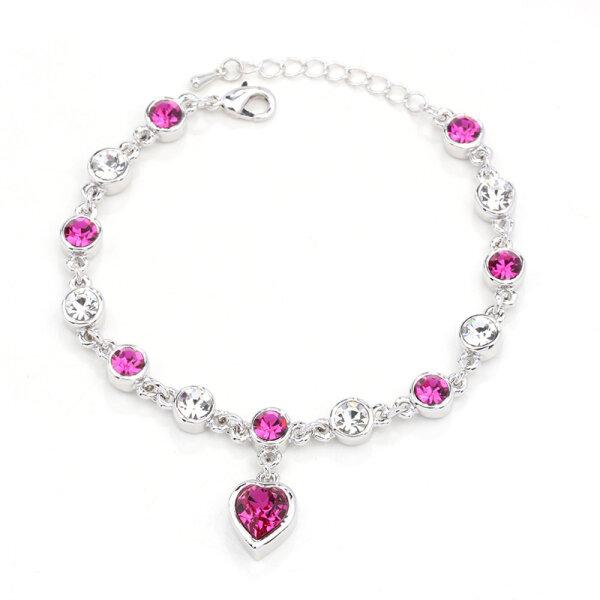 Silber/Pink